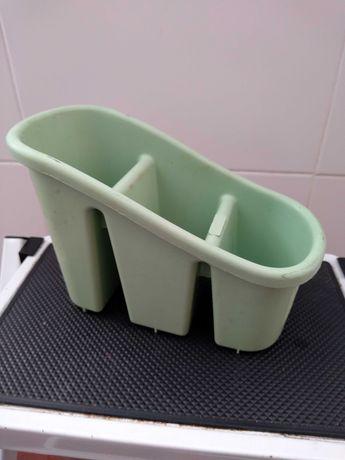 Escorredor de talheres verde