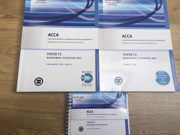 ACCA Management Accounting MA F2