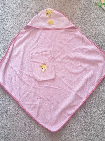 Różowy recznik 70x70