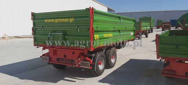 Przyczepa burtowa tandem PRONAR T663/2 7 t / 9,8 m³ Finansowanie 0%