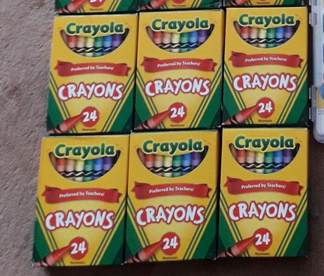 Карандаши восковые Crayola 24 шт.