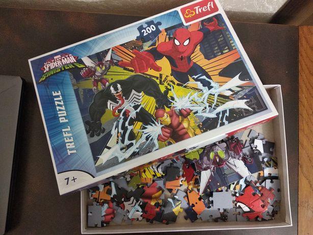 Marvel, пазли Марвел, Спайдермен, Веном.