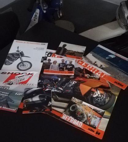 Manual de Instruções KTM 640 LC4 (Enduro e SM) 2006 e outros