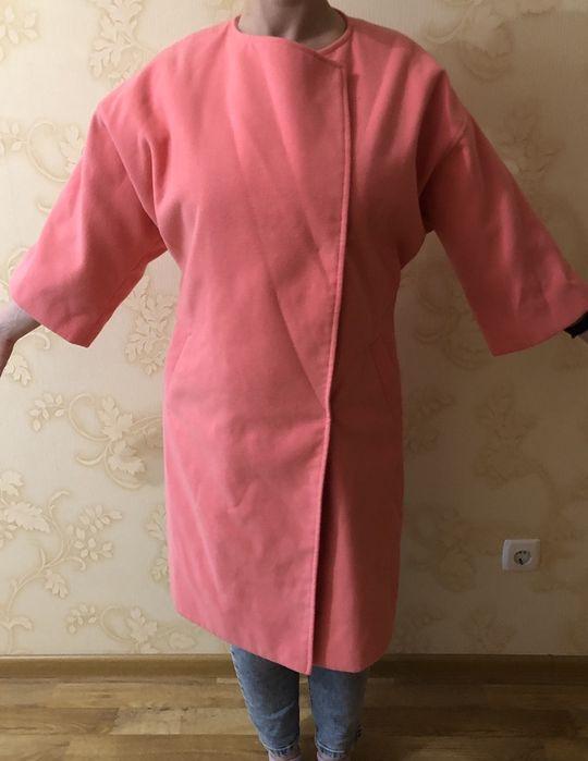 Продам шикарное розовое пальто из кашемира! Киев - изображение 1