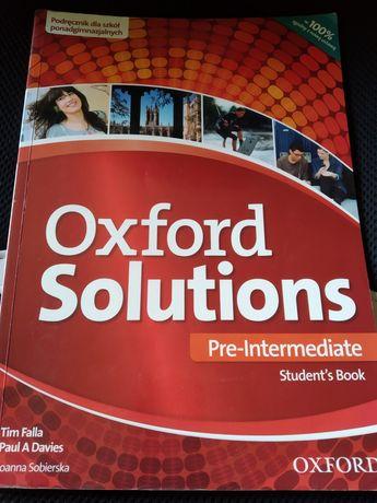 Oxford Solutions podręcznik oraz ćwiczenia