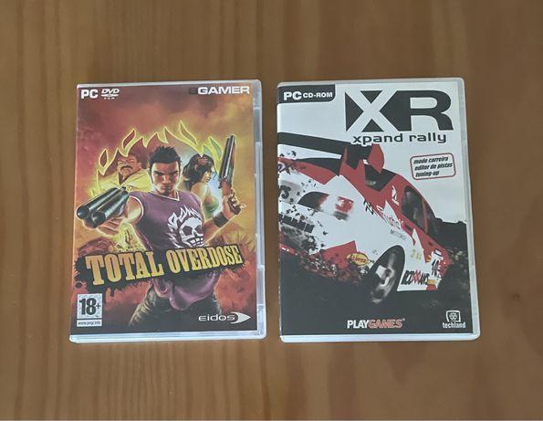 Jogos para computador - PC (CD) - Xpand Rally e Total Overdose