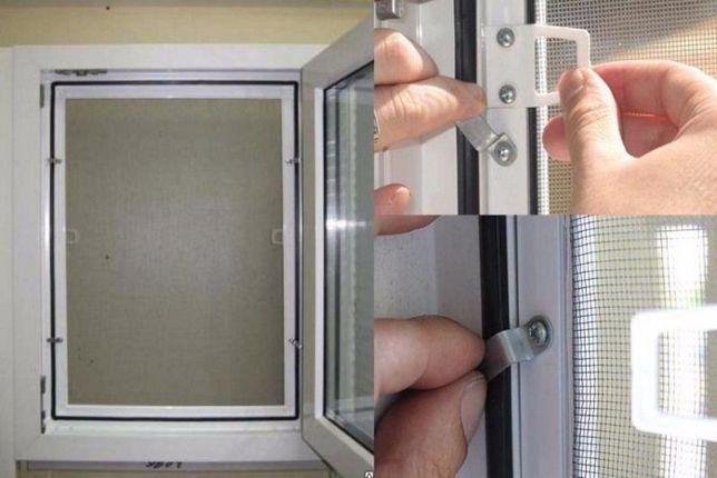 Москитные  сетки на пластиковые окна и двери