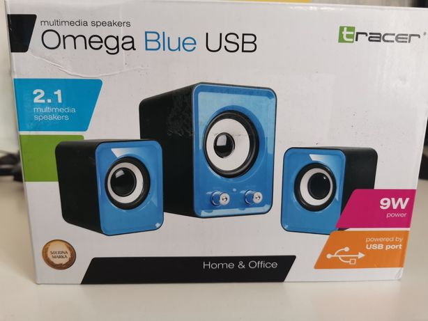 Głośniki Omega Blue USB Tracer