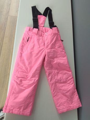 Spodnie narciarskie kombinezon dziewczęce rozmiar 104cm