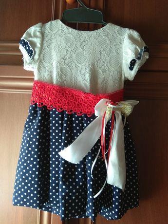 Платье на возраст от 1,5 до 3лет