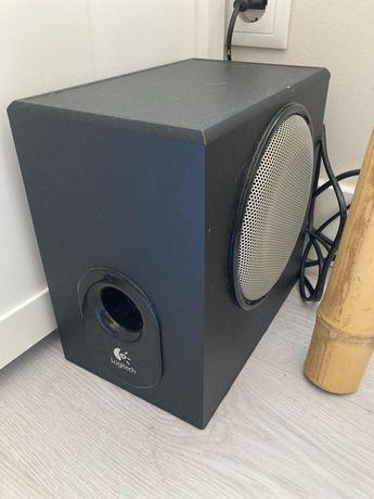 Logitech speakers e subwoofer x230