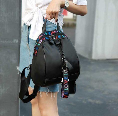 Стильний жіночий рюкзак / женский рюкзак черный