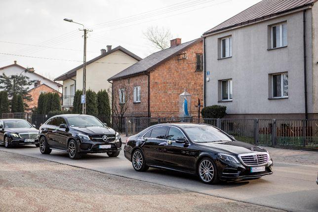 Auto samochód do ślubu Mercedes GLE Coupe Radom Kielce Warszawa
