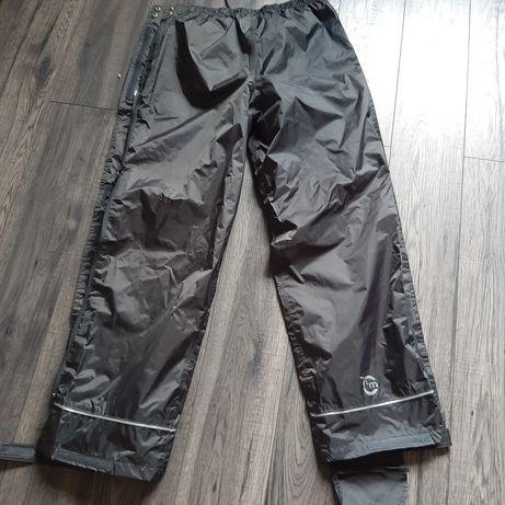 Spodnie motocyklowe przeciwdeszczowe rozpinane