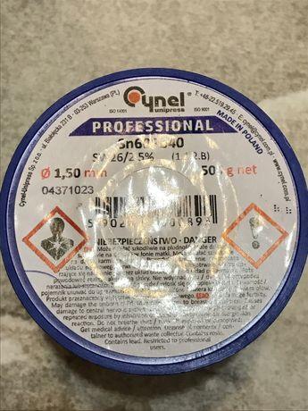 Припой Cynel professional 1.50 mm 500 g