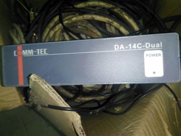 Amplificador distribuidor video 4 canais