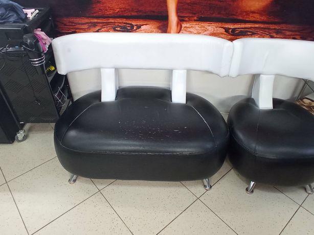 Диванчик  и кресло для салона