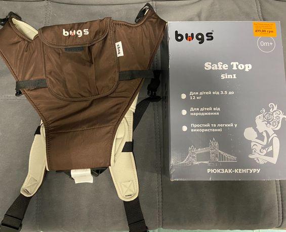 Рюкзак-переноска для малыша, эрго рюкзак, кенгуру для малыша