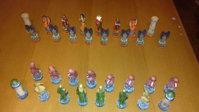 kolekcjonerskie figurki szachowe fantasy Mystical Kingdoms