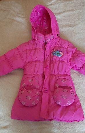 Куртка для девочки. Демисезонная (теплая зима)