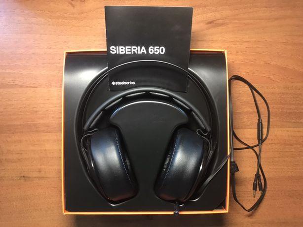 Наушники SteelSeries Siberia 650 Black