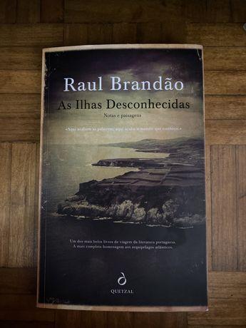 """Livro: """"As Ilhas Desconhecidas"""" de Raul Brandão"""