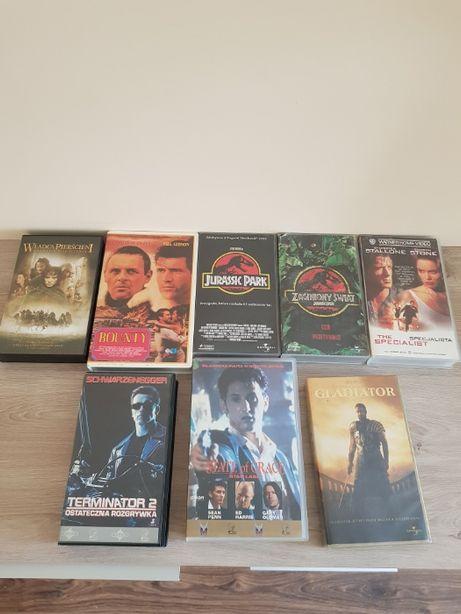 Kasety VHS (8 szt). - zakup zestawu lub pojedynczo