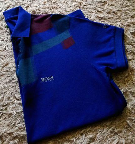 Hugo Boss oryginalny męski t-shirt koszulka polo