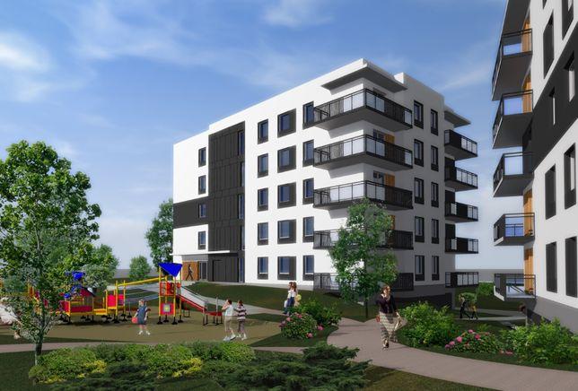 APARTAMENTY PLESZEW, mieszkanie w nowoczesnym stylu 59,52m2, II ETAP