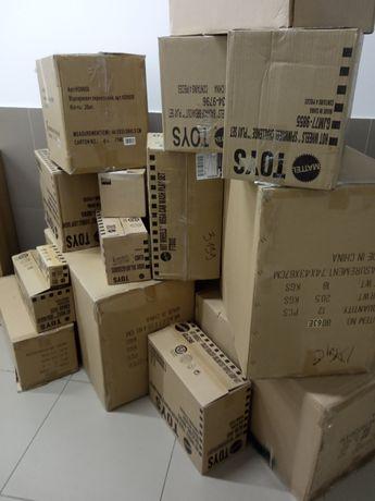 Картонные коробки, картонні коробки