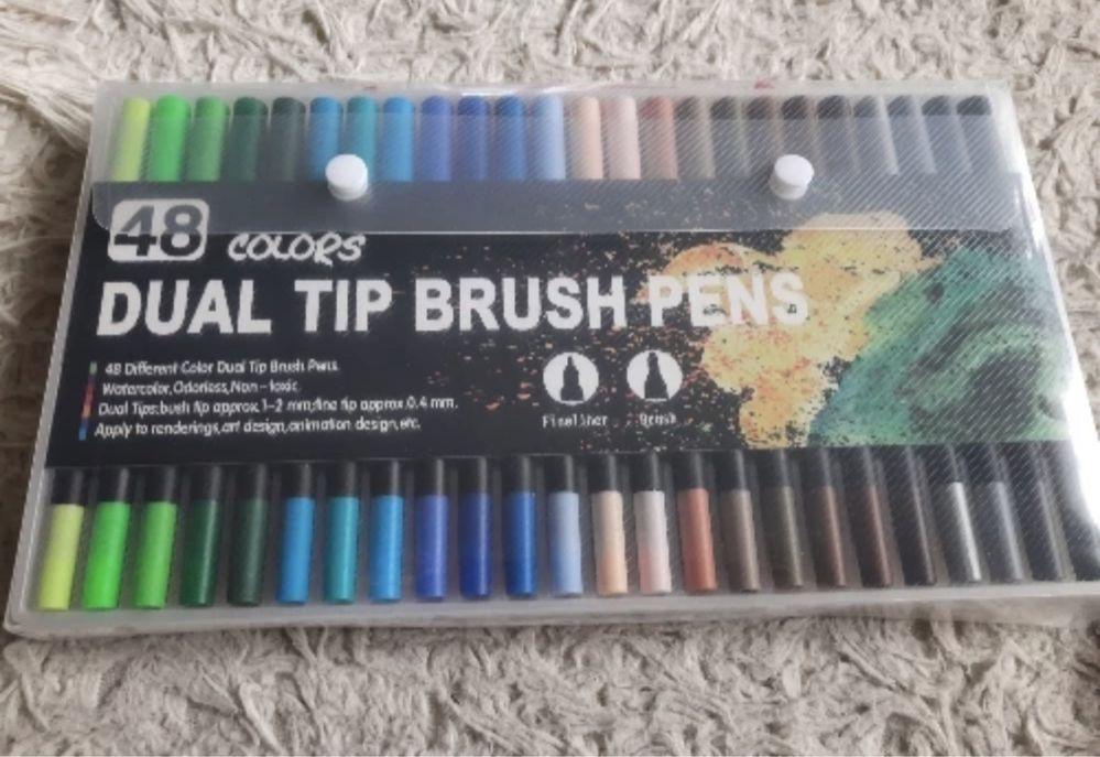 Kit 48 brush pens