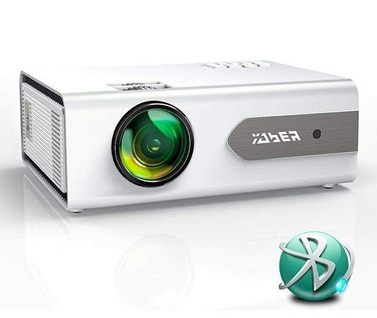 Projetor led 5800 lumens+bluetooth incorporado+Mirrorlink/1080P