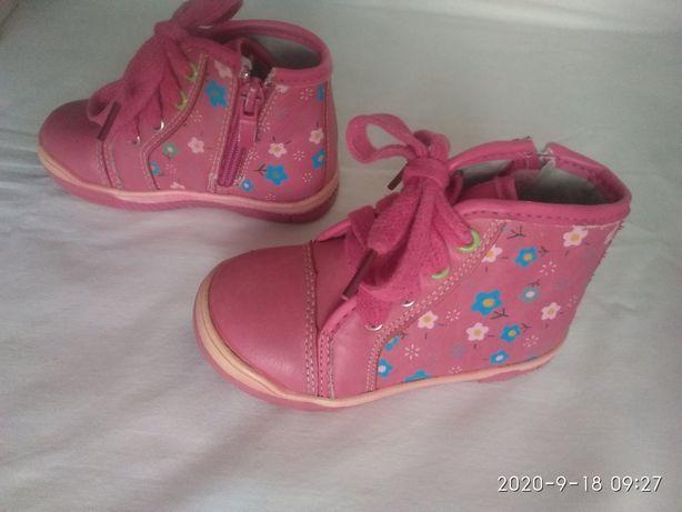 Черевички 21 розмір ботинки взуття обувь