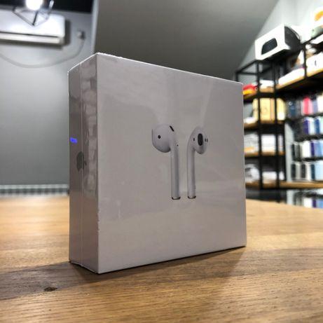 Apple AirPods MV7N2 2-го поколения Новые Оригинал Год Гарантия