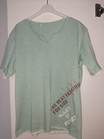Zielona bluzka dziecięca