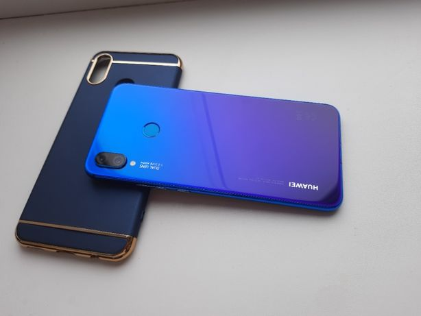 Huawei P smart + 4gb/64gb Iris Purple СОСТОЯНИЕ ИДЕАЛ