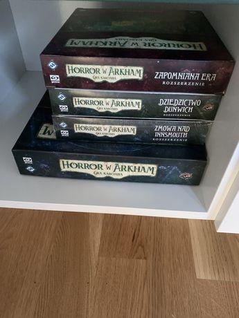 Horror w Arkham LCG + scenariusze