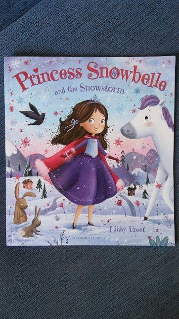 Książka po angielsku Princess Snowbelle and the Snowstorm, Libby Frost