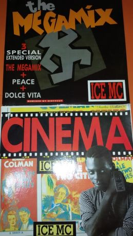 Discos Vinil Ice MC - Megamix, Cinema, Ice MC