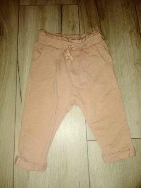 Zara spodnie baby girl 74