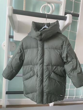 Зимняя куртка zara 3-4 года