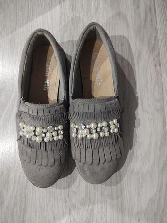 Buty z perełkami