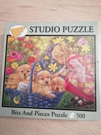 Puzzle 500 elementów bits and pieces