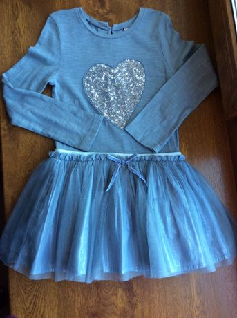 Платье нарядное next 3-4 года, рост 104-110 см