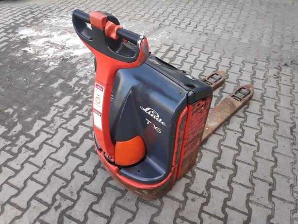 Wózek widłowy Linde T16 elektryczny paleciak sztaplarka sztapla