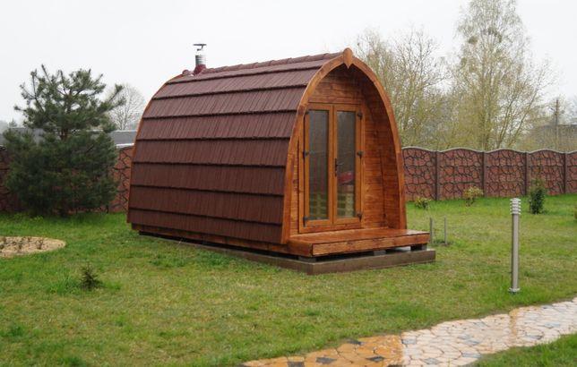 Sauna ogrodowa 3m w pełnym wyposażeniu/dachówka kompozytowa/brutto