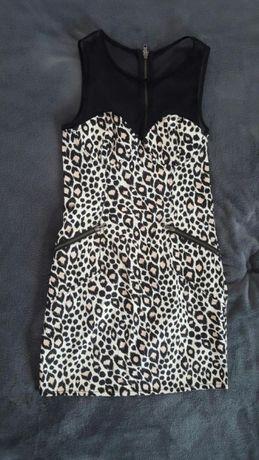 Sukienka w panterke 38