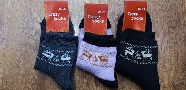 Розпродажа! Мужские Женские махровые носки