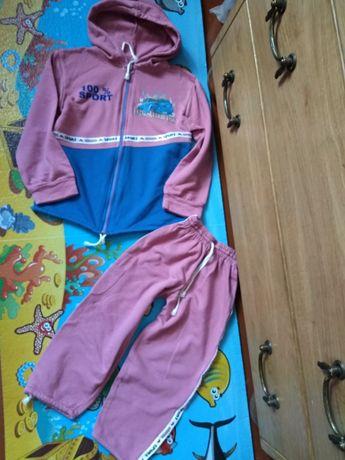 Трикотажный Спортивный костюм, 98 см.
