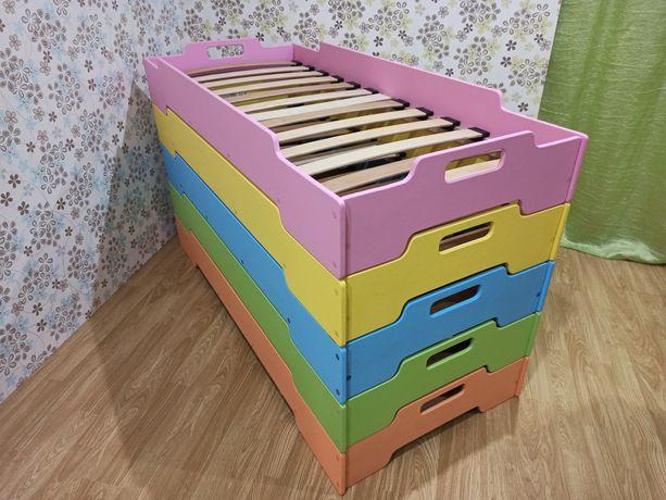 Ліжечко дитяче, ліжко садік садок, набірне, кровать детская, кроватка